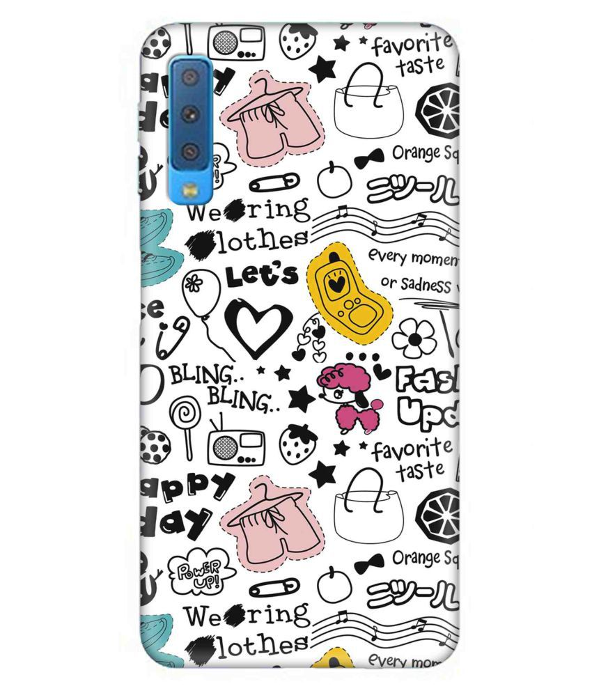 Samsung Galaxy A7 2018 3D Back Covers By 7C
