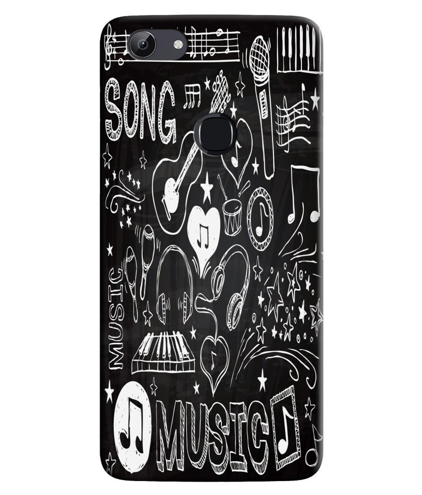 Oppo F5 Printed Cover By HI5OUTLET