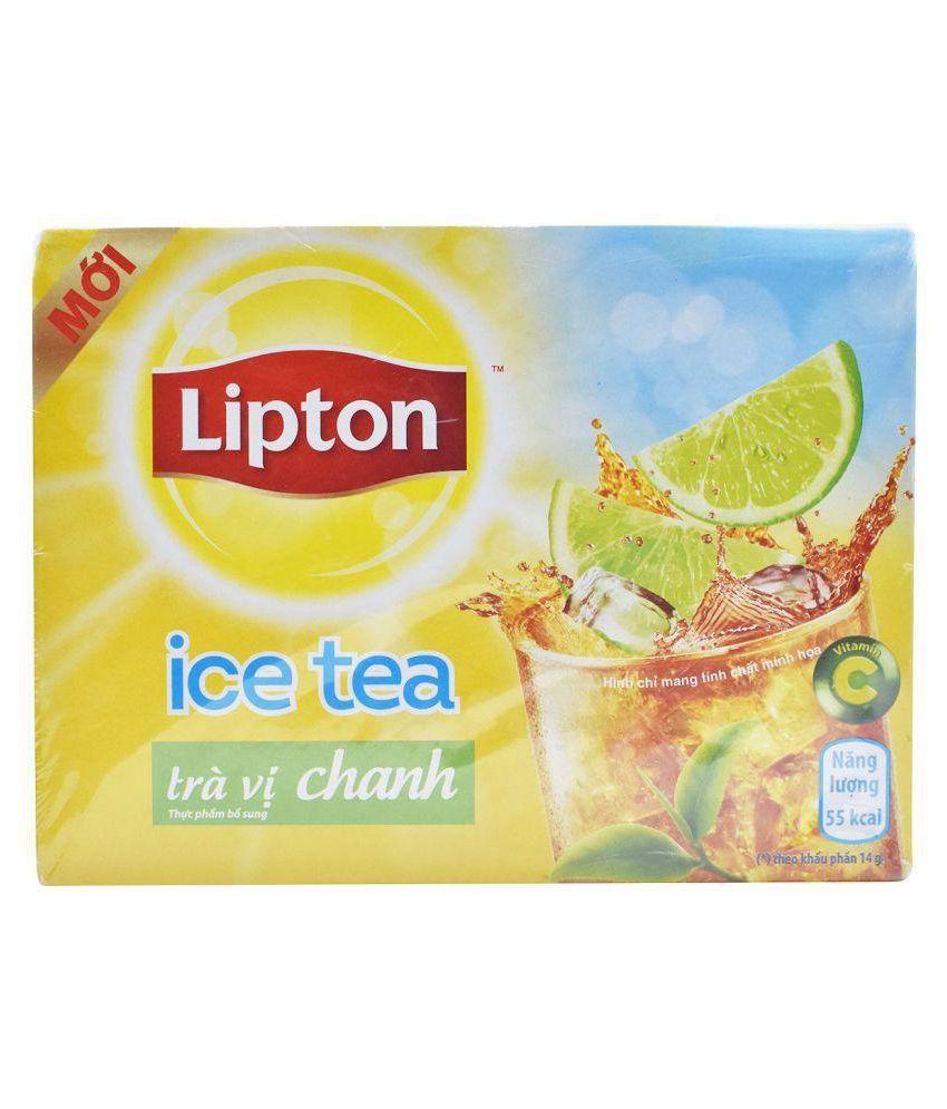 Lipton Lemon Flavoured Iced Tea Bags 224 gm