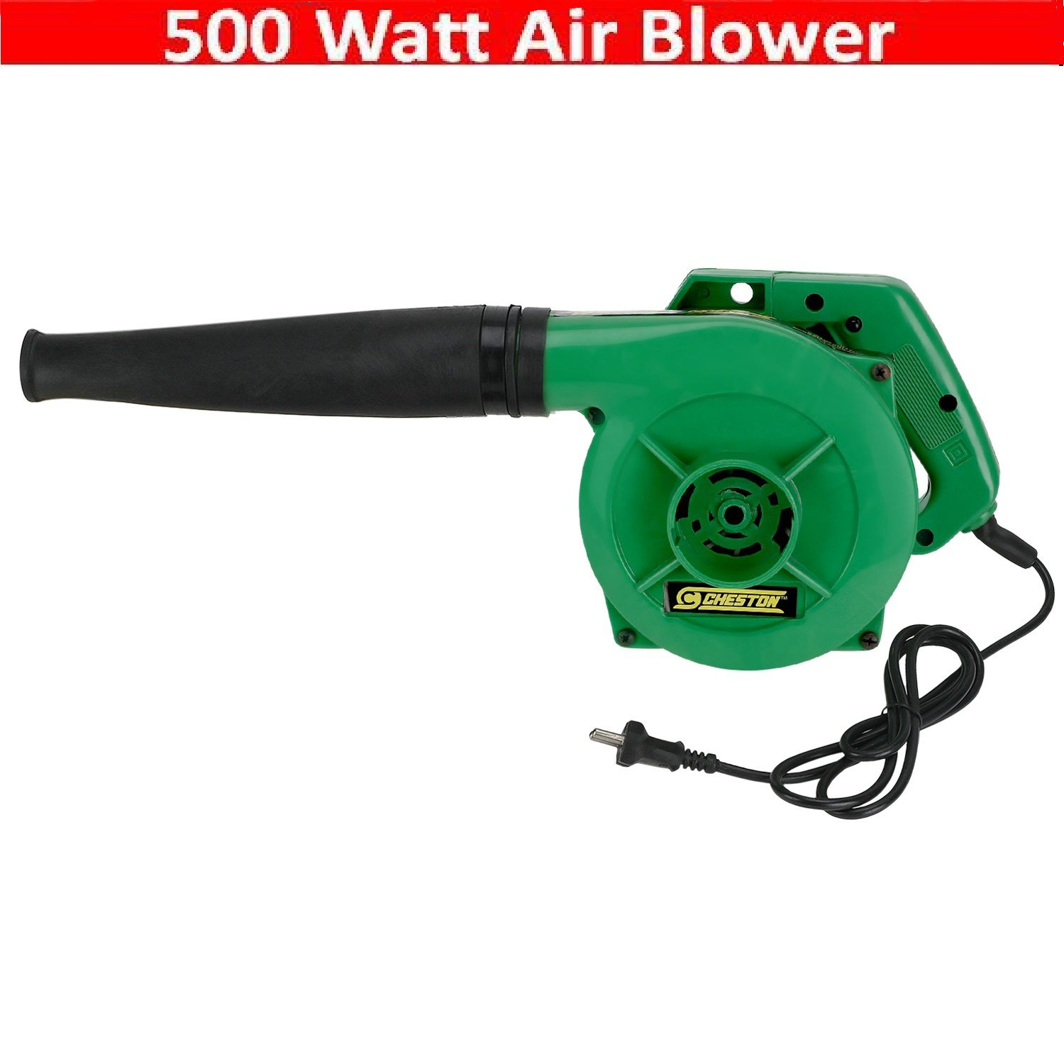 Cheston - 13000 RPM 500W Electrical Tool Powerful Air Blower Without Variable Speed
