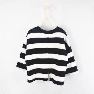 Black White Stripes Boys Blouses Long Sleeve Tops For 2Y-9Y - Buy Black  White Stripes Boys Blouses Long Sleeve Tops For 2Y-9Y Online at Low Price -  Snapdeal