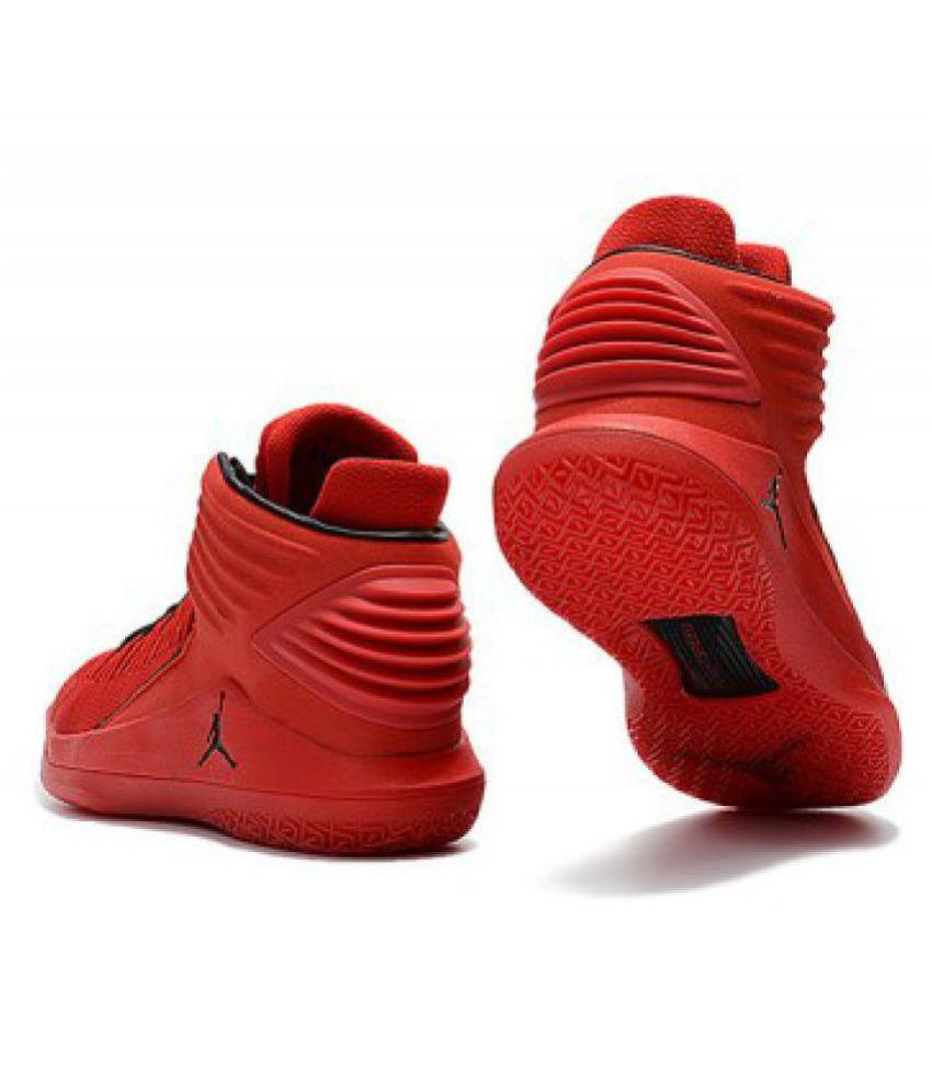competitive price most desirable fashion online here Nike Air Jordan 32 Red Basketball Shoes