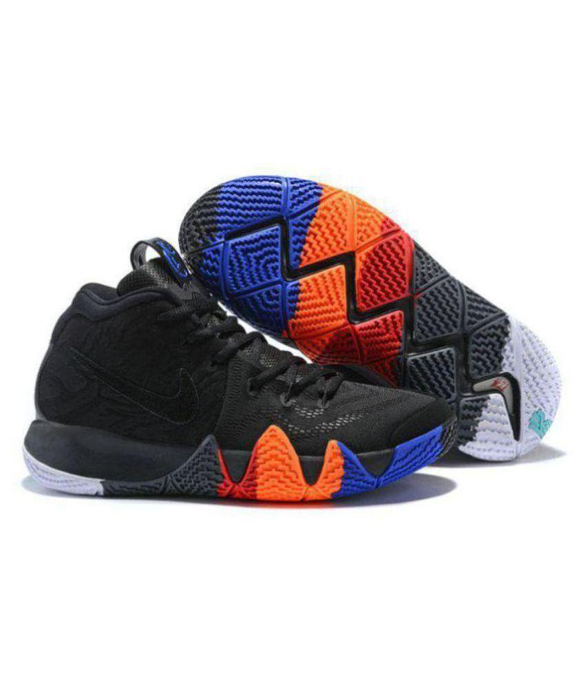the latest 20db8 98f4c Nike Nike Kyrie 4 Black Multi Midankle Male Black: Buy ...