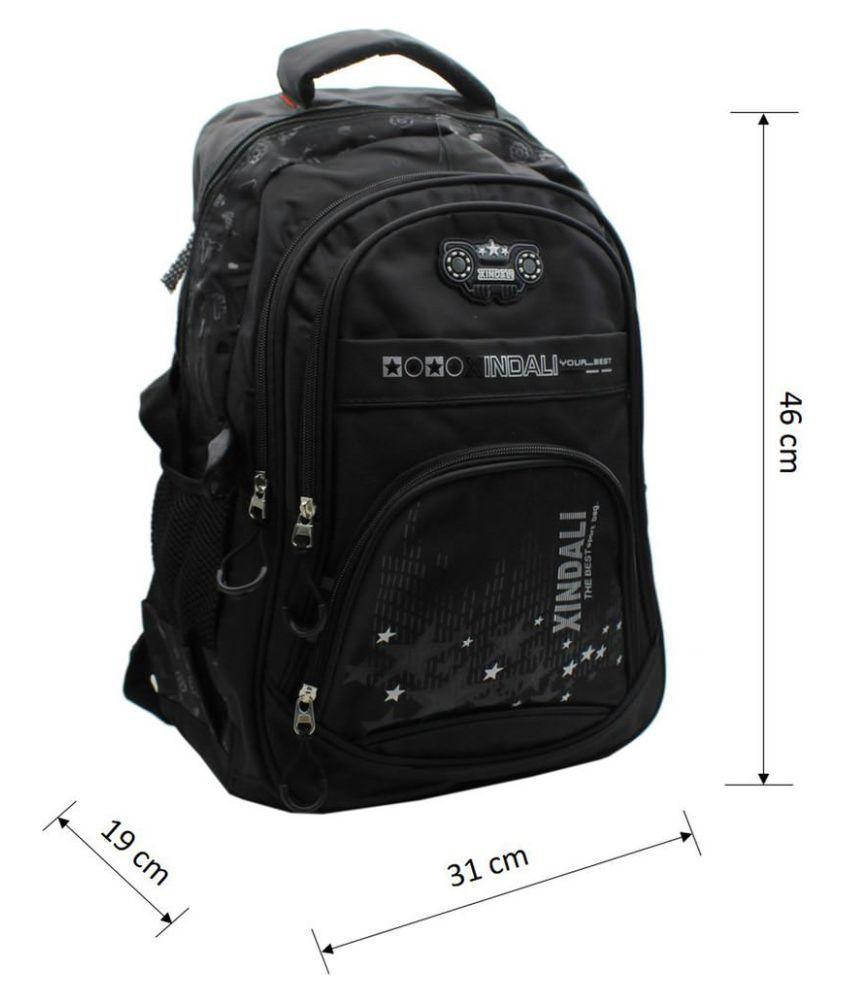 a9735efcdd5 Trendy Black Synthetic School Bag - Buy Trendy Black Synthetic ...