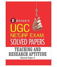 UGC NET/JRF Exam. Solved Papers Teaching & Research Aptitude (General Paper-I)