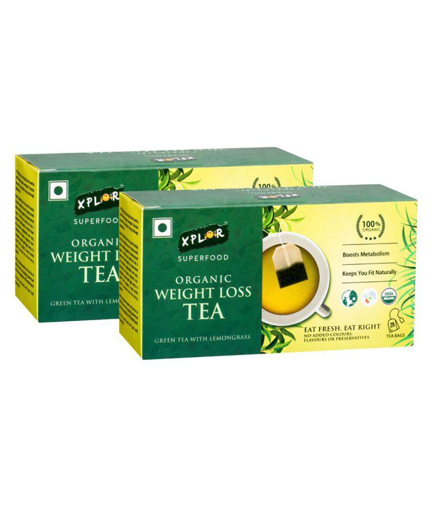 Xplor Darjeeling Tea Bags WeightLossWithLemongrass 50 no.s