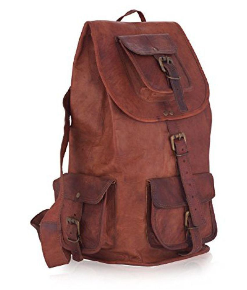 3883f3db68 ZNT Original Leather Classy Bags Backpack - Buy ZNT Original Leather Classy Bags  Backpack Online at Low Price - Snapdeal