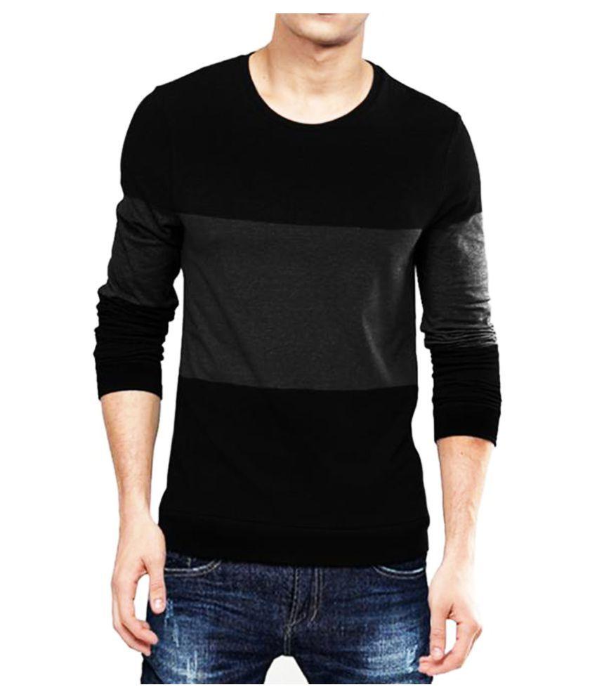 Leotude Multi Full Sleeve T-Shirt Pack of 1