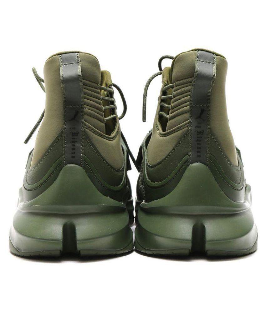 cienie kupować tanio słodkie tanie Puma F1 Green Running Shoes
