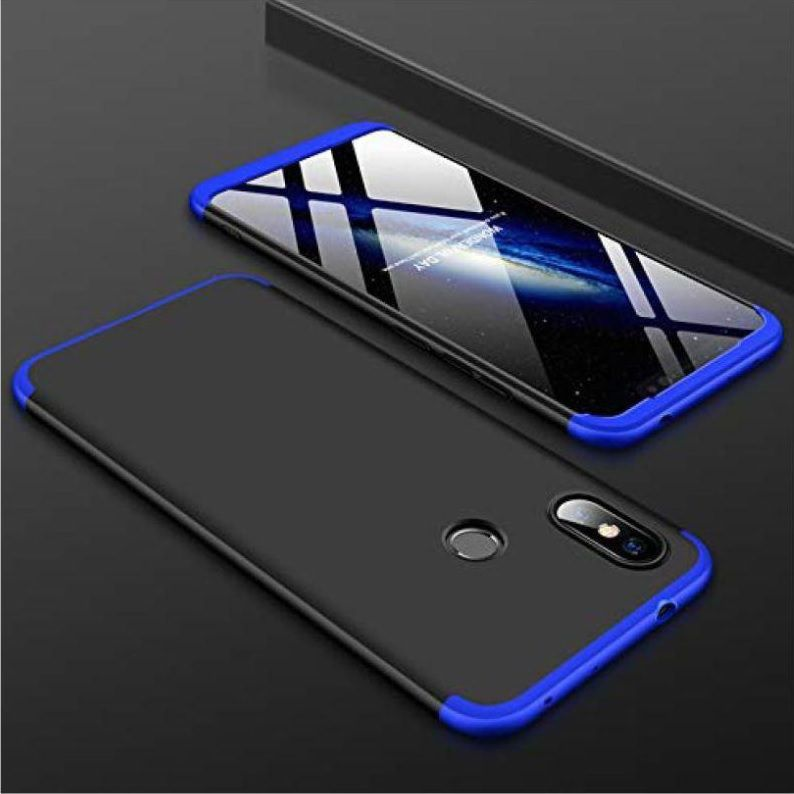pretty nice 5a1bb 76bf4 Xiaomi Redmi Note 6 Pro Hybrid Covers PHONETASTIC - Blue Original GKK  Double Dip Slim 360° Case