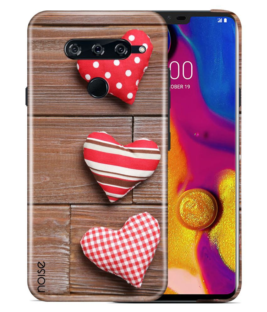 LG V40 ThinQ Printed Cover By Noise