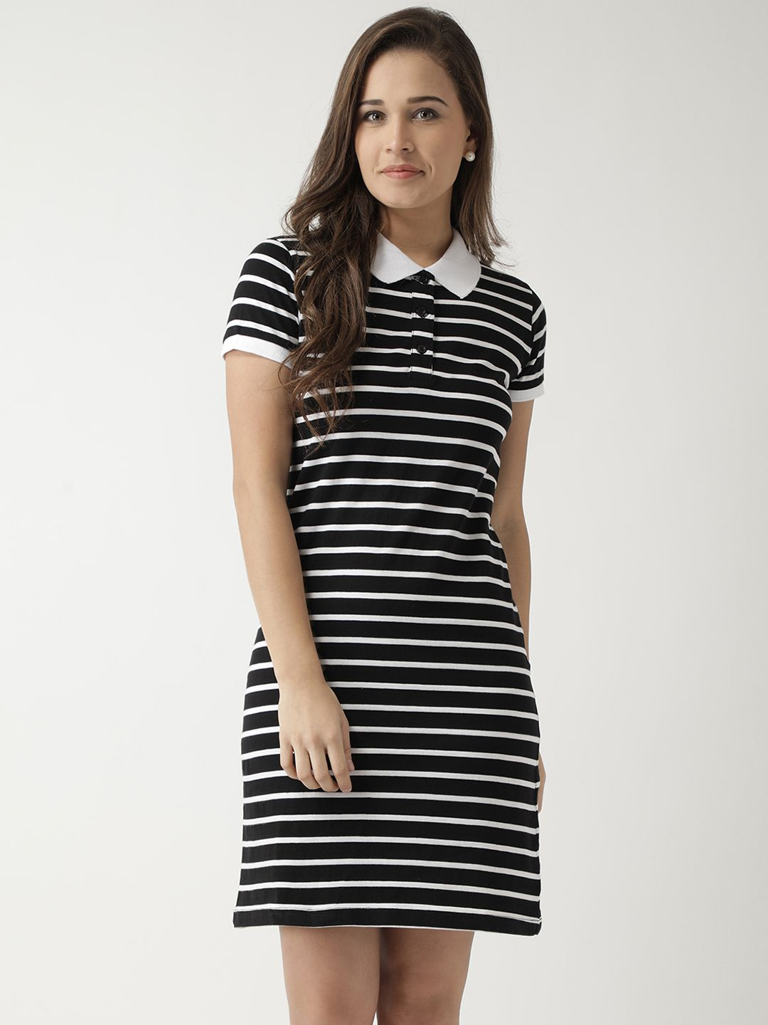 f3d5aa3113 Club York Cotton Black Sheath Dress - Buy Club York Cotton Black Sheath Dress  Online at Best Prices in India on Snapdeal