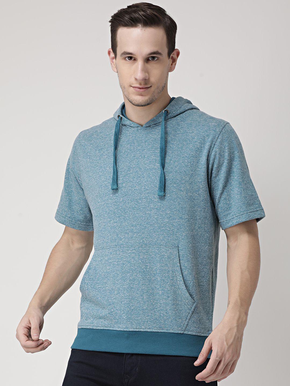Club York Turquoise Hooded Sweatshirt