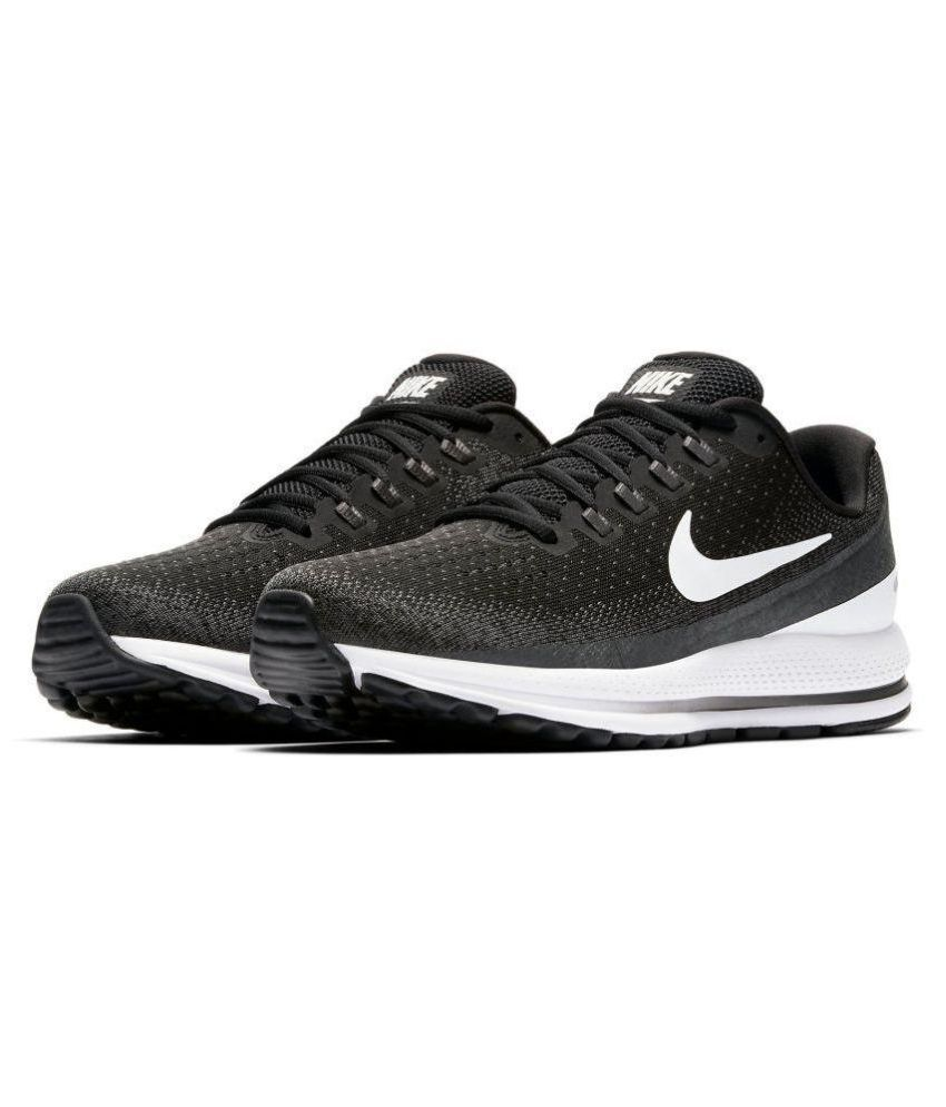 buy online fed68 9dea0 Nike Vomero 13 Running Shoes Black For Gym Wear