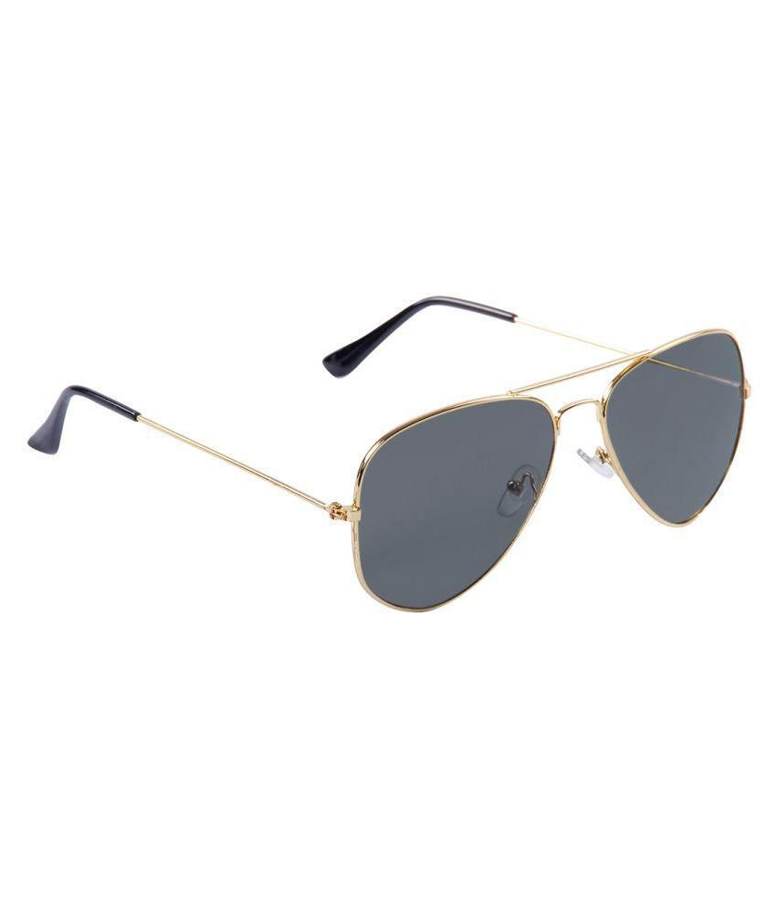 Olvin Green Aviator Sunglasses ( OL295-05 )