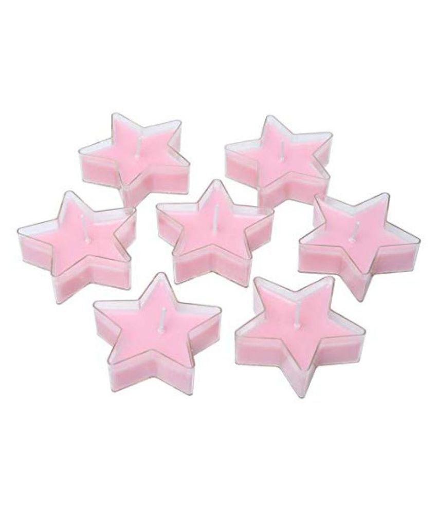 Sacred Salts Pink Votive Candle - Pack of 7