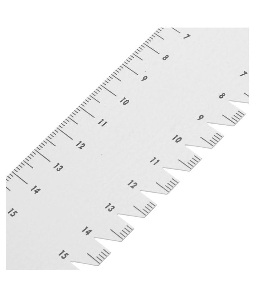 1pc 21cm Ultrathin sewing patchwork ruler quilting tool DIY sewing accessory MW