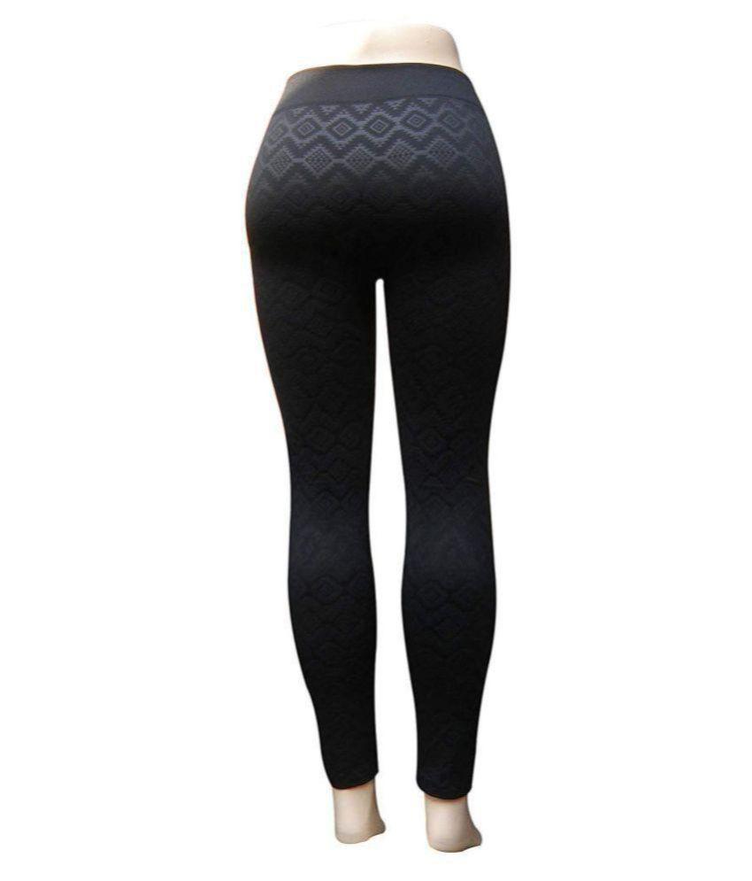 40fd0ac78166e ... G STAR FASHION Women's Winter Warm Fleece Lined Leggings for Women,  Fleece Hot Woolen Legging ...