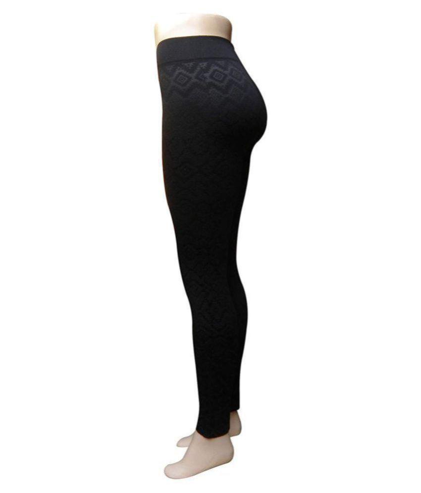 b5f3e163e4ff62 ... G STAR FASHION Women's Winter Warm Fleece Lined Leggings for Women,  Fleece Hot Woolen Legging ...