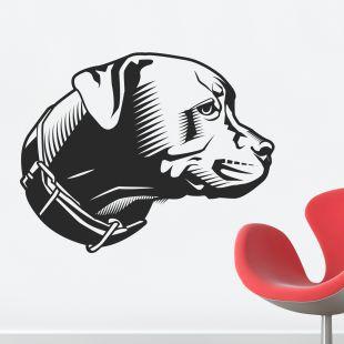 Dogo Argentino dog Vinyl Decal,SM