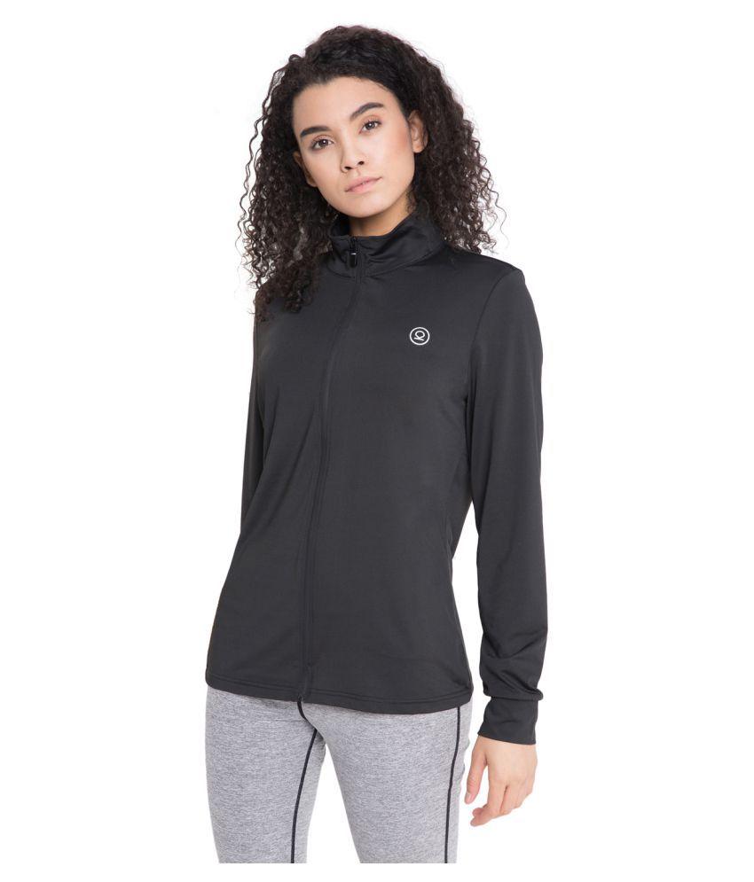 CHKOKKO Sports Gym Running Full Sleeves Zipper Jacket Or Casual Sweatshirts for Women