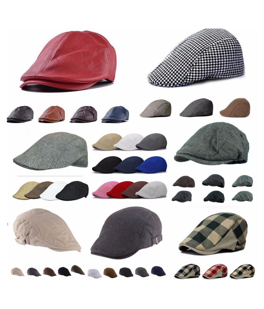 ... Men Women Duckbill Driving Flat Ivy Golf Beret Cap Peaked Sport Hat  Cabbie Hat ... 0752427879