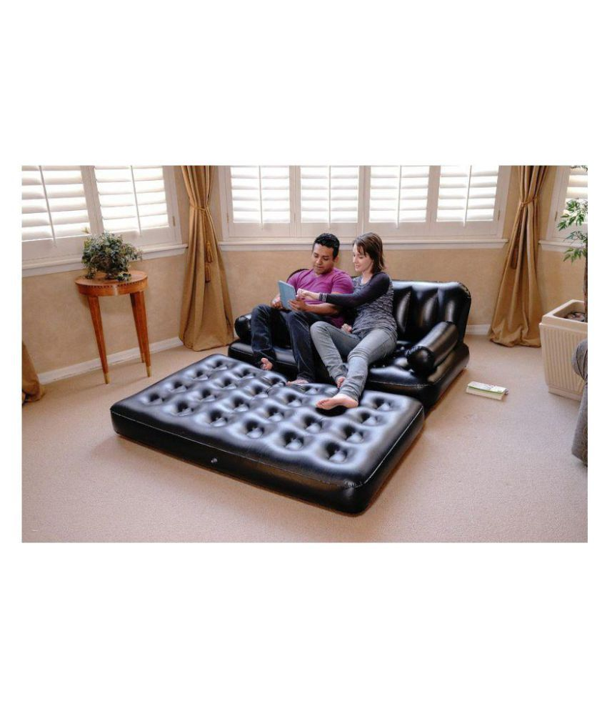 Airsofa 5 In 1 Adjustable Reliable Portable Air Bed Cum