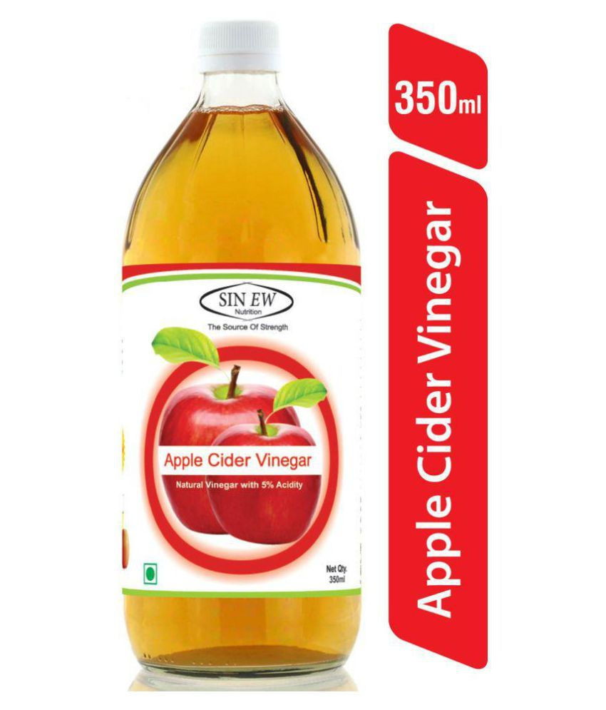 Sinew Nutrition Apple Cider Vinegar Without Mother 350 ml Unflavoured Single Pack
