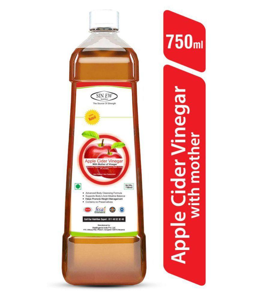 Sinew Nutrition Apple Cider Vinegar With Mother 750 ml Unflavoured