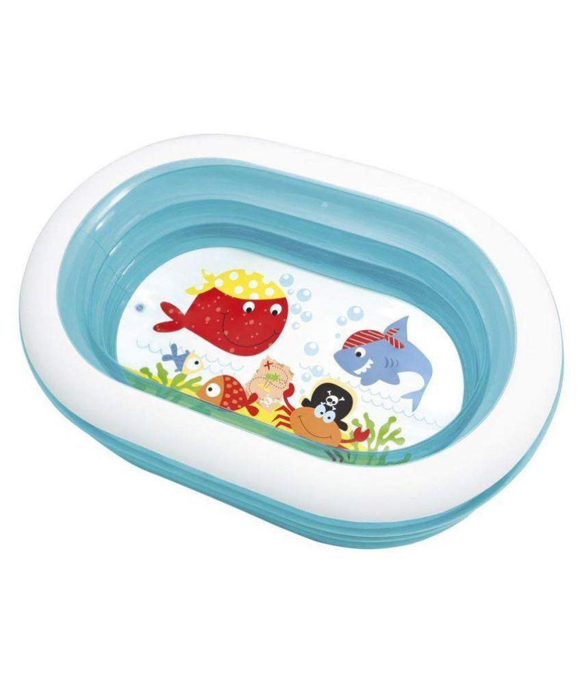 crazy toys Intex Oval Fun Pool For Kids Inflatable