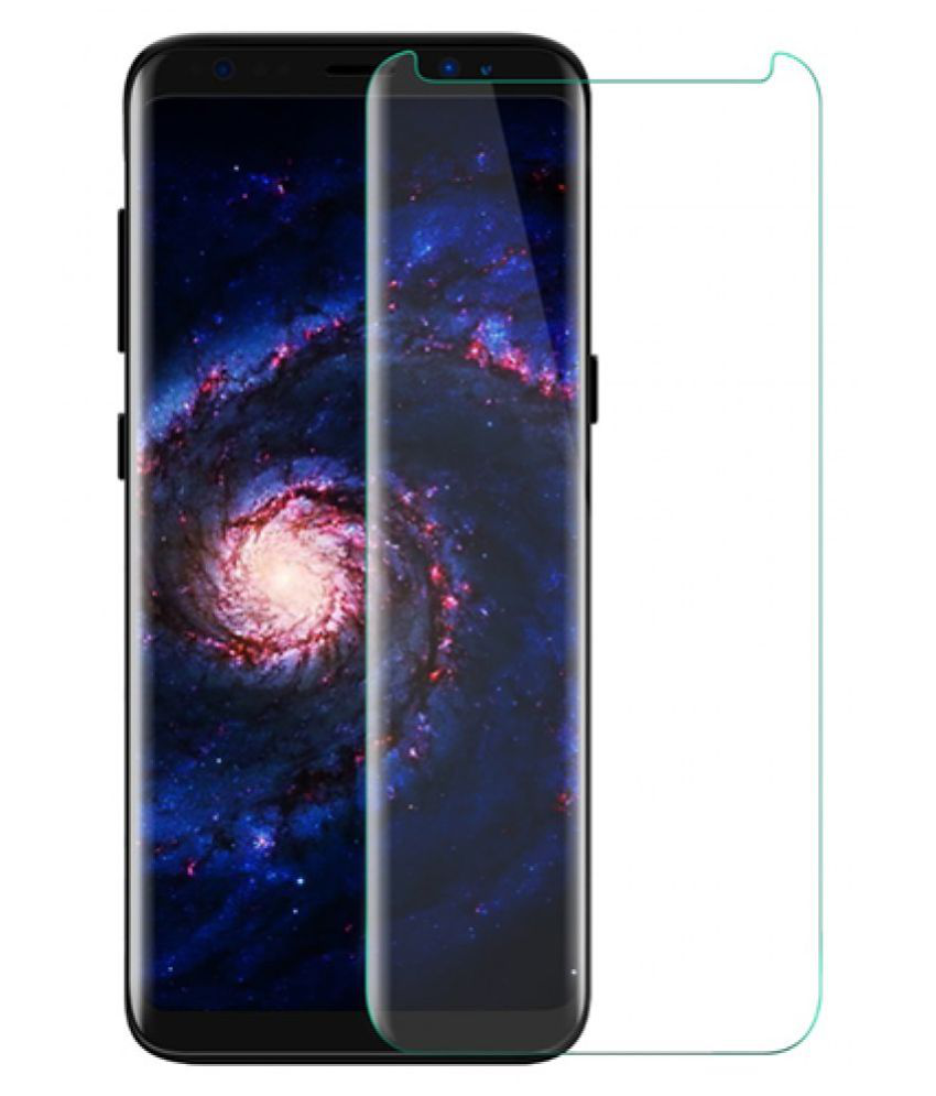 Samsung Galaxy S8 6D Screen Guard By lenmax UV Protection, Anti Reflection.