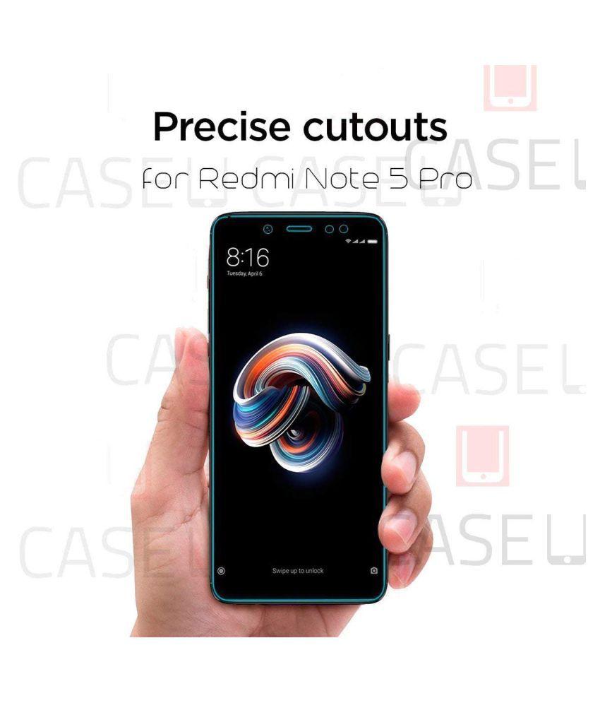check out 80d6e 51375 Xiaomi Redmi Note 5 Pro Full Glue Tempered Glass Screen Guard By Case U