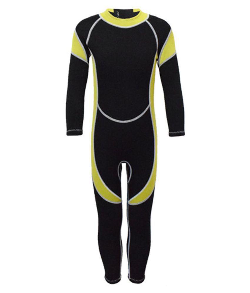2.5MM Kids Wetsuit Neoprene Boys Girls Surfing Swimwear Diving Long Sleeves Suit