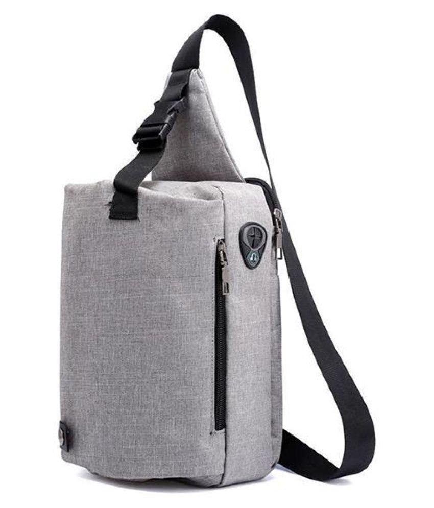 Oxford Minimalist Casual Outdoor Sling Bag Chest Bag Crossbody Bag For Men