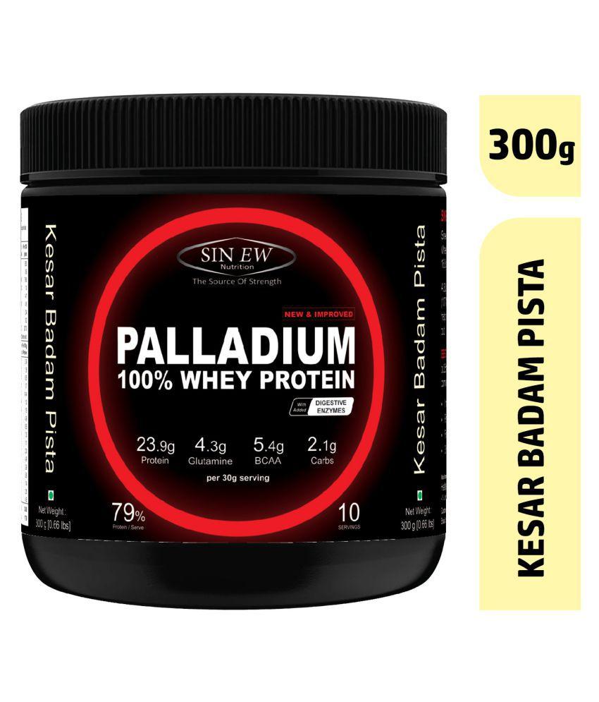 Sinew Nutrition Palladium Whey Protein (Kesar Pista Badam) 300 gm