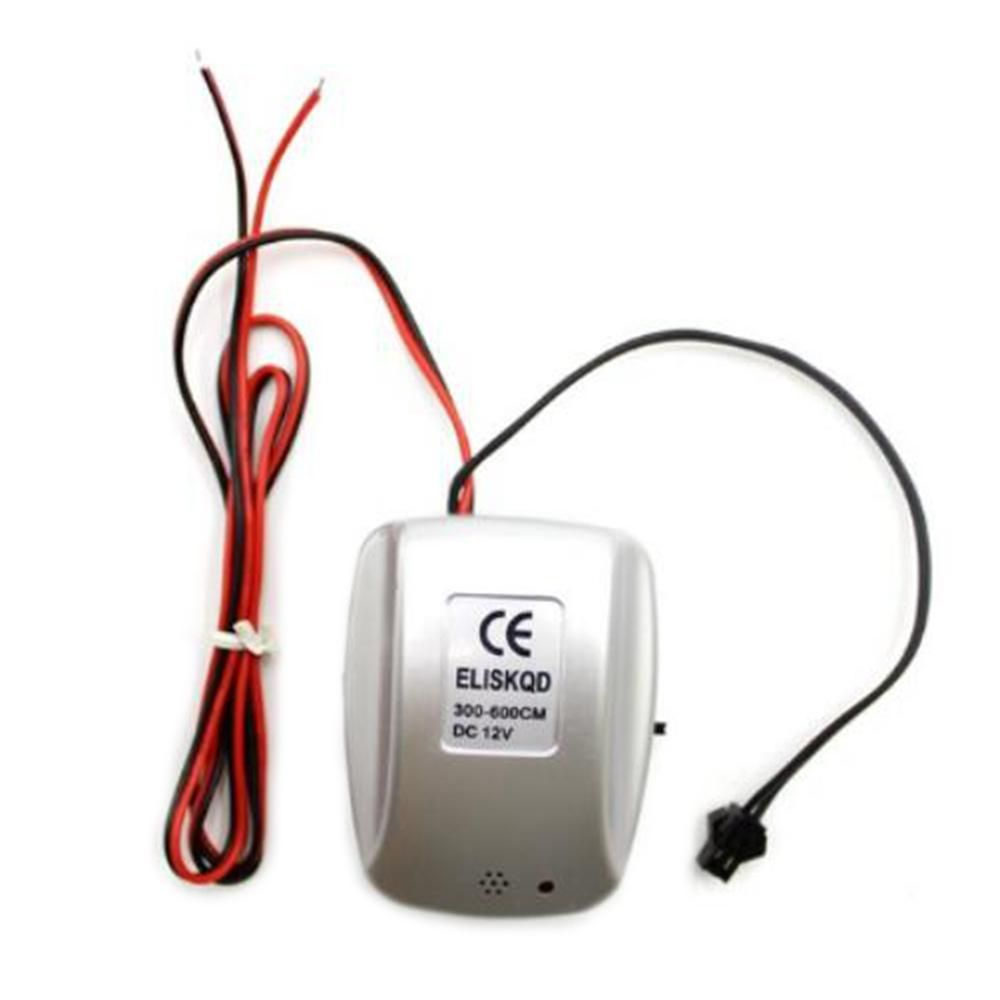 DC12V Sound Voice Control Power Supply Adapter LED Driver Controller Inverter for 1-6M El Wire Light