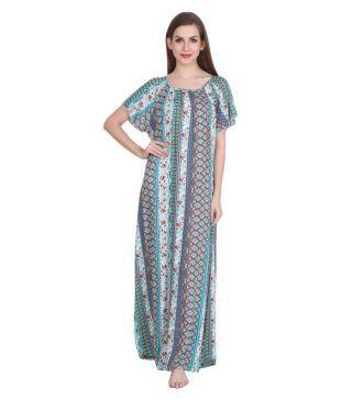 Patrorna Modal Nighty   Night Gowns - Multi Color 8d2e4fc5e