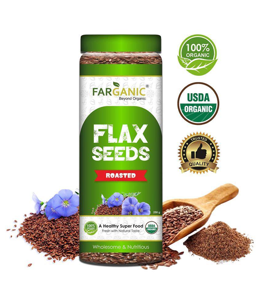 FARGANIC Roasted Flax Seeds 250 gm