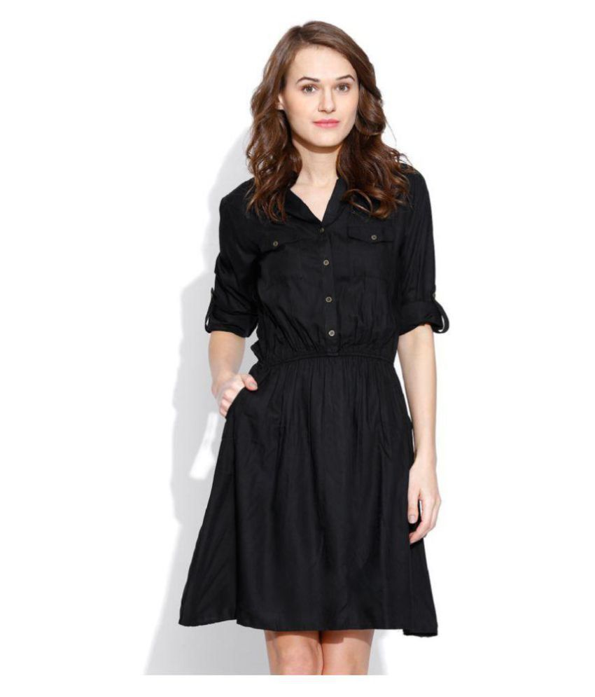 f077109d9ee4 Indicot Poly Georgette Shirt Dress  Questions and Answers for ...