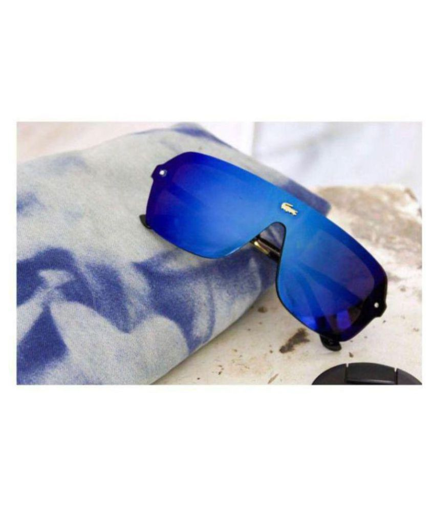 c543a1554c08 LACOSTE SUNGlASS Blue Square Sunglasses ( L129 ) - Buy LACOSTE SUNGlASS  Blue Square Sunglasses ( L129 ) Online at Low Price - Snapdeal