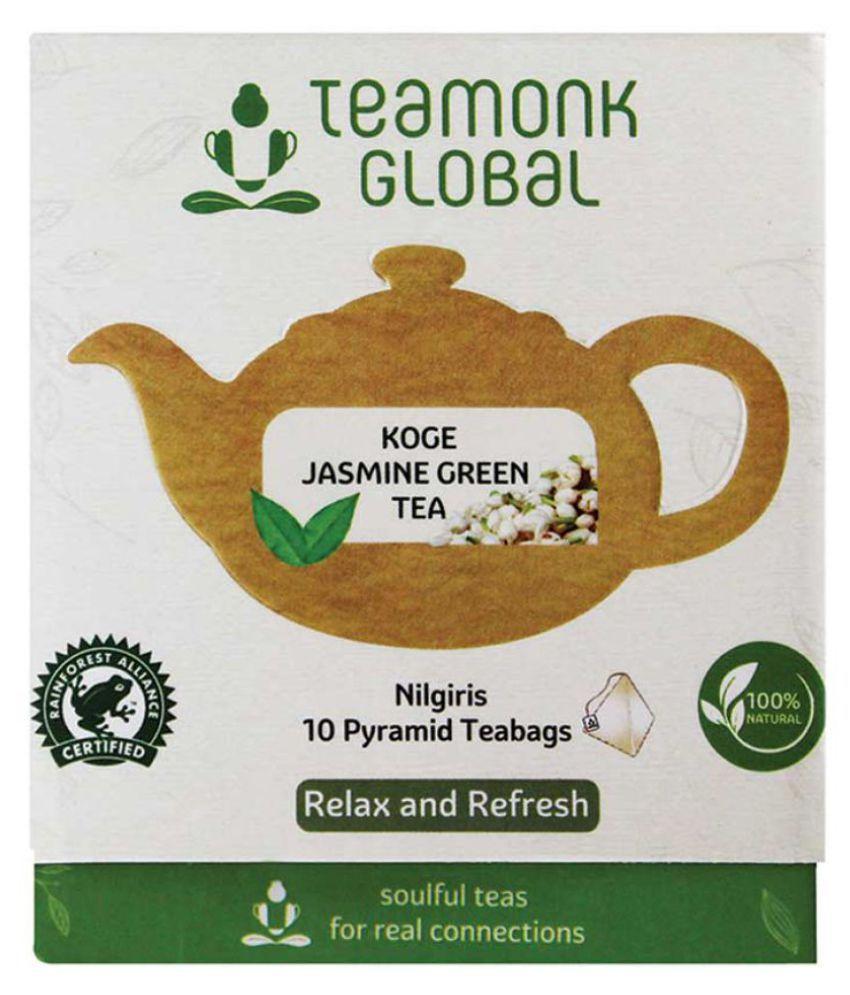 Teamonk Koge Nilgiri Jasmine Green Tea, 10 Teabags