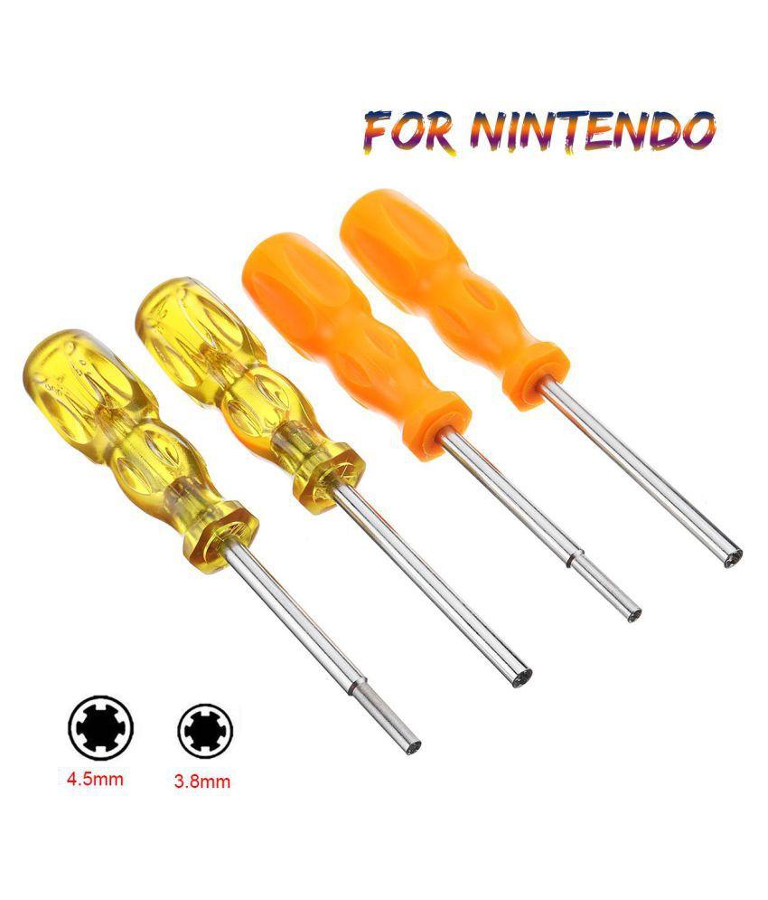 3.8mm+4.5mm Security Screwdriver Tool Bit Kit For Nintendo NES SNES N64 Game boy