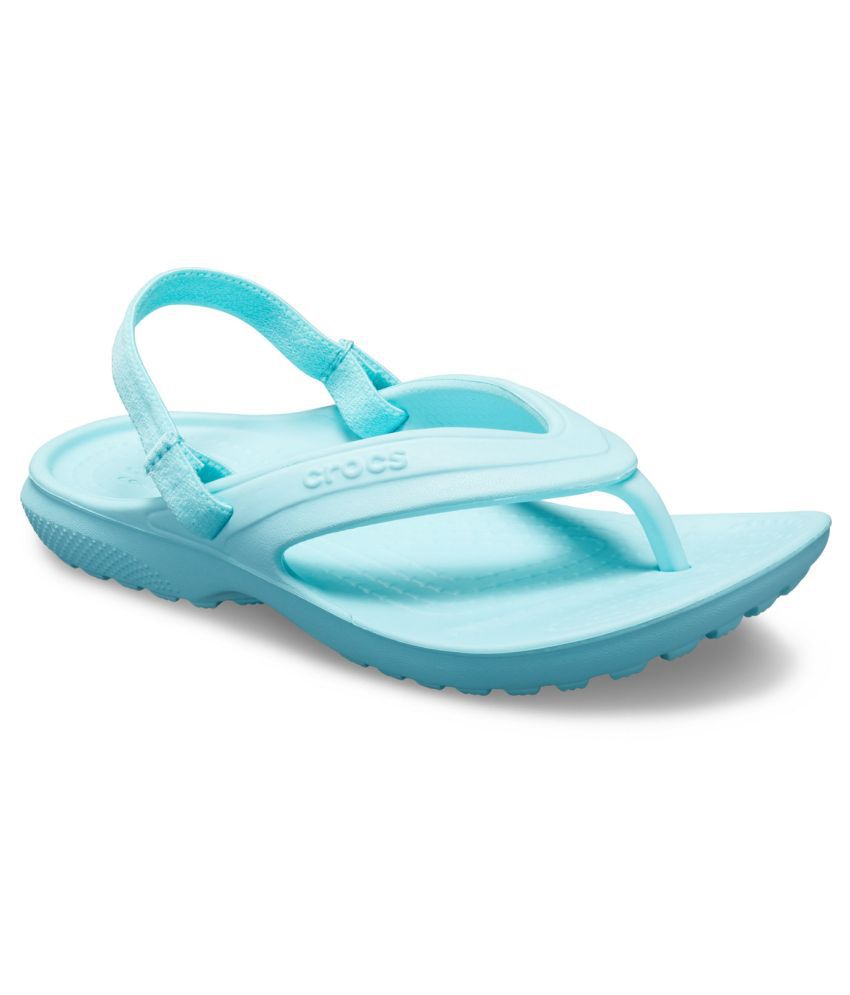 Crocs Classic Boys Blue Flip-Flop