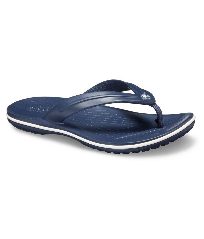 Crocs Crocband Boys Blue Flip-Flop