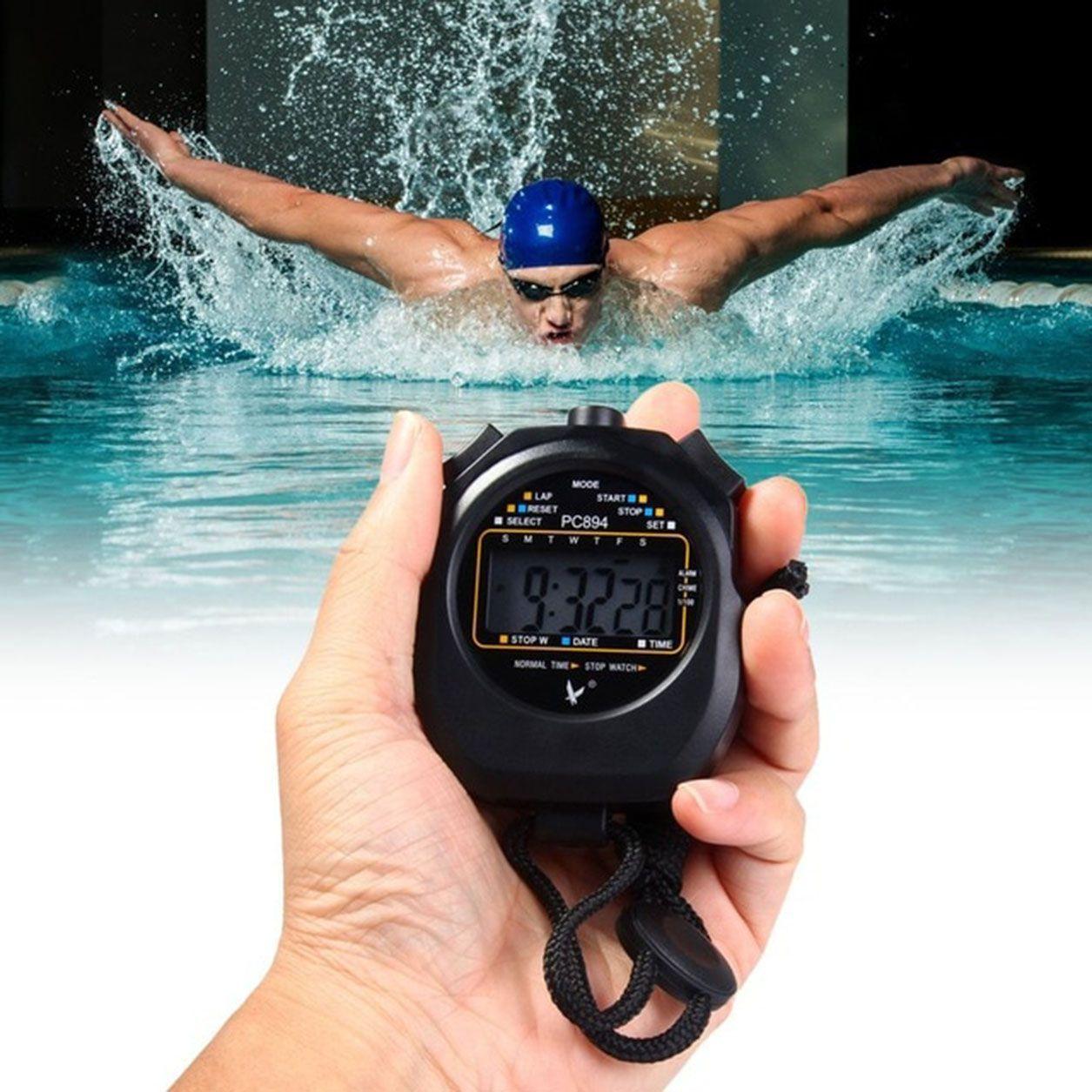 KALOPSIA INDUSTRIES Plastic Black Stopwatch L