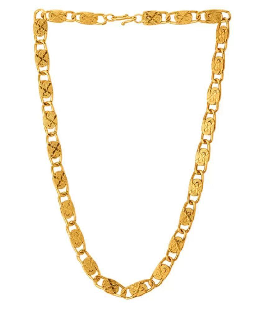 LVA CREATIONS Gold Brass & Copper etc Chains