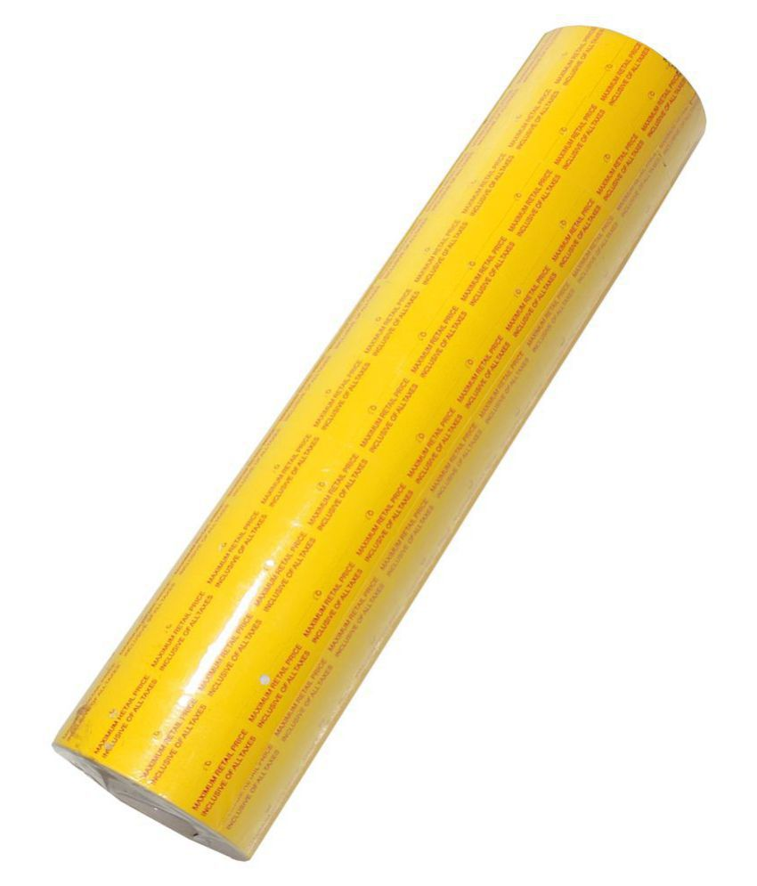 10 Rolls Price Label Paper Tag Sticker MX5500 Labeller Gun Yellow Red Line