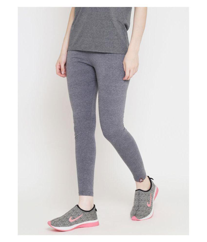 Ds Fashion Cotton Tights - Grey