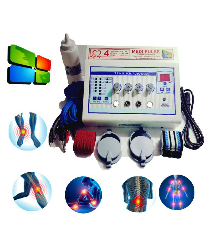 MEDI-PLUSE TENS  AUTO MODE 4Ch Digital ELECTOTHERAPY & PHYSIOTHERAPY