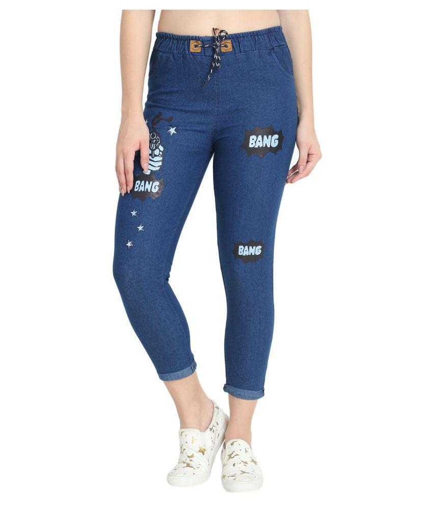 C.Cozami Denim Jeans - Blue